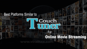 Online streaming with Couchtuner