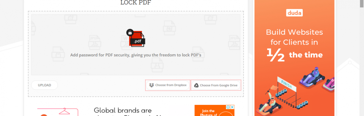 Save your PDF documents with the help of the PDF Lock